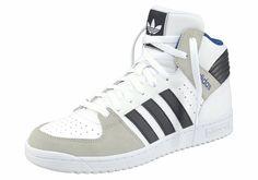 Größenhinweis , Fällt klein aus, bitte eine Größe größer bestellen., |Produkttyp , Sneaker, |Schuhhöhe , Knöchelhoch (high), |Farbe , Weiß-Schwarz, |Herstellerfarbbezeichnung , mgh solid grey, |Obermaterial , Mix aus Leder und Synthetik, |Verschlussart , Schnürung, |Laufsohle , Gummi, | ...