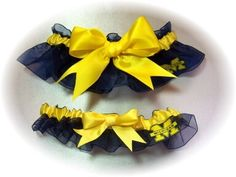- Great for an Ann Arbor Wedding! When I Get Married, I Got Married, Jen And Justin, Michigan Go Blue, Wedding Garter Set, Blue Wedding, Wedding Bells, Michigan Wolverines, Something Blue