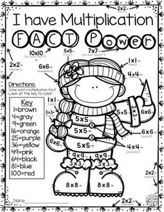Help your 1st, 2nd, and 3rd grade students master their addition facts with these easy, print-and-go winter math fact resources! Teaching upper elementary, no worries! Your 3rd, 4th, and 5th grade students will love coloring their multiplication math facts! Each 12 page resource is a great way for your elementary classroom or homeschool students to get much needed math fact fluency practice in. And click through now to see the adding and multiplying FREE download that is included! You want…