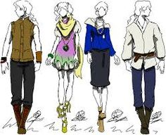 Image result for men contemporary medieval clothing