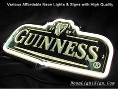 Awesome neon Guinness beer sign!