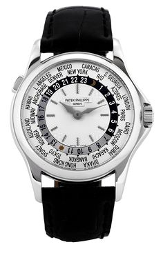 Patek Philippe World Time 24 hour watch