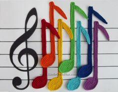 (4) Name: 'Crocheting : 023 Notes Bookmark by Zabelina Amigurumi