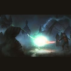 The rise of Voldemort, Alex Shiga on ArtStation at https://www.artstation.com/artwork/rYa1L A Harry Potter fanart