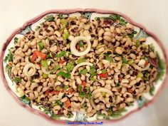 Greek Cooking Made Easy Black Eyed Pea Salad, Black Eyed Peas, Eat Greek, Greek Cooking, Greek Salad, Healthy Eating Tips, How To Make Salad, Savoury Dishes, Greek Recipes