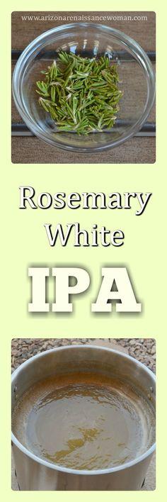 Rosemary White IPA - Homebrew Recipe
