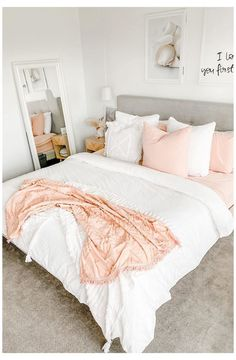Apartment Bedroom Decor, Room Ideas Bedroom, Small Room Bedroom, Bedroom Inspo, Girls Bedroom, Room Girls, Bedroom Signs, Diy Bedroom, Design Bedroom
