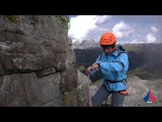 Study lanyards for climbing and mountaineering - YouTube