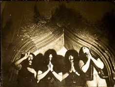"Black Sabbath's rare old photo from 1969. First appearance of the ""devil…"