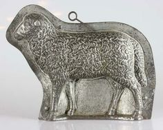 sheep chocolate mold, Anton Reiche