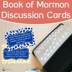 Book of Mormon Themed Discussions — Chicken Scratch N Sniff Latter Days, Latter Day Saints, Family Home Evening Games, Book Of Mormon, Lds Mormon, Primary Lessons, Lds Primary, Study Journal, Scripture Study