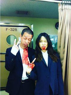 """戸田恵梨香、『SPEC』続編は「ぜってーやんねーかんな」加瀬亮と""""血まみれピース"""""""