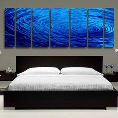 Extra Large Contemporary Fusions of Cobalt Blue Jewel Tone Metal Panel Wall Art - Rain Drop-Inspired Abstract Home Accent, Over-Sized Home Decor, Modern Wall Sculpture - Cobalt Ripple XL by Jon Allen    http://www.xpressionportal.com/scorpio-gift-ideas/    Cool, Mysterious and Alluring Scorpio Gift Ideas  Powerful, confident and mysterious both Scorpio men and women enjoy receiving gifts.  Therefore the best Scorpio gift ideas are ones that actively play into their often dark personality.