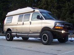 2006 CHEVY EXPRESS VAN 3500 4X4 QUIGLEY ROADTREK 190 POP (Waukegan,IL) $76250 - RV Loco