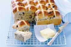 Hot cross buns http://www.taste.com.au/recipes/19250/hot+cross+buns