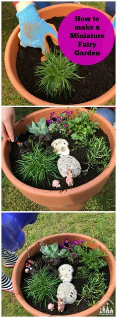 Make some treasured memories this summer with your kids as you create a Miniature Fairy Garden together. The perfect project to get a preschooler interested in gardening.