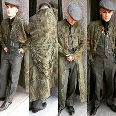 Post Apocalyptic Military Trench Coat