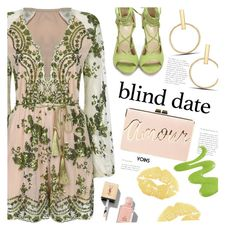 """Dress to Impress: Blind Date"" by meyli-meyli ❤ liked on Polyvore featuring BCBGMAXAZRIA, Yves Saint Laurent, offshoulderdress, blinddate, yoins, yoinscollection and loveyoins"