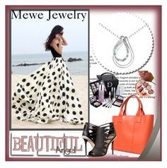 """""""Mewe Jewelry  5"""" by ramiza-rotic ❤ liked on Polyvore featuring L.A.M.B. and Christian Dior"""