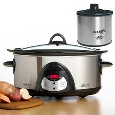 Crock Pot SCVC609C-SS 6-Quart Oval Programmable Slow Cooker with Little Dipper - $54.95 #littledipper #crockpot #slowcooker #appliances $54.95 - Save 35%!    #crockpots #crockpot #dealyard
