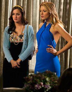 "Blair and Serena _ graduation day. Season 2 Episode 25 ""The Goodbye Gossip Girl""."