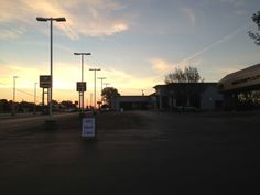 7 am we begin setting up while the sun's coming up! Harvey Automotive 2013 vintage car show.