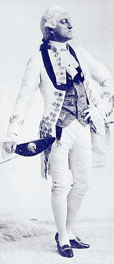 John Drew as Charles Surface in 'The School for Scandal'