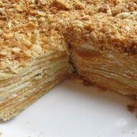 Торт Наполеон на сковороде. Рецепт приготовления торта Наполеон