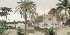 Paysages - Toile panoramique Varanasi L500xH250cm