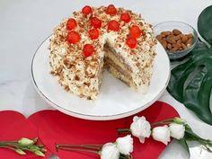 Η Τούρτα αμυγδάλου, είναι μια εύκολη συνταγή, που σε κάθε μπουκιά καταλαβαίνεις όλα τα αρώματα και τις νότες που σου προσφέρουν τα καβουρδισμένα αμύγδαλα. Σου έχω την γρήγορη και εύκολη συνταγή για την τούρτα αμυγδάλου όπως παλιά! Greek Desserts, Cake, Kuchen, Torte, Cookies, Cheeseburger Paradise Pie, Tart, Pastries