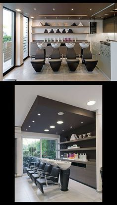 Salon XYZ - Liege (Belgium) - Salon Design - Shampoo Station #SalonTrends