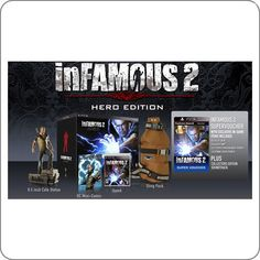 PS3 Infamous 2 Hero Edition R$199.90