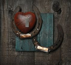 Rustic CowboyWestern Wedding Gift or by heartifactsgallery on Etsy, $49.00