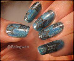 Nail Art by Belegwen: Discokynnet?