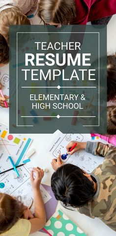 Teacher Resume, Cover Letter, Ref. Teacher Resume Template, Modern Resume Template, Resume Templates, Cover Letter For Resume, Cover Letter Template, Letter Templates, Job Posting, As You Like, Save Yourself