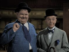 Stan and Ollie at the Theater by MoFrackle on DeviantArt