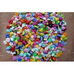 Boutique de Scrapbooking Lot de Boutons Forme Plastique Fruit Animaux Véhicule