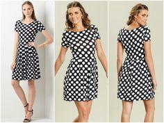 Vestido polka dots