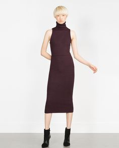 LONG TUBE DRESS-View all-Knitwear-WOMAN   ZARA United States
