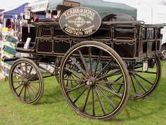 Horse-Drawn Hearse by messy_beast, via Flickr