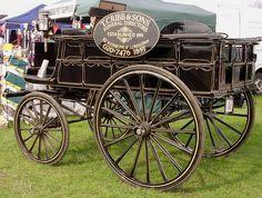 Horse-Drawn Hearse wagon