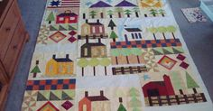 This is my America the Beautiful quilt. I started it about a year ago, for a guild project; it was in McCall's quilting magazine last yea...