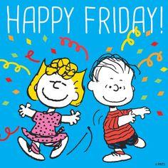 ❀ Happy Friday with Sally and Linus ❀ Meu Amigo Charlie Brown, Charlie Brown Snoopy, Charlie Brown Christmas, Snoopy Love, Snoopy And Woodstock, Happy Friday, Snoopy Friday, Hello Friday, Friday Weekend