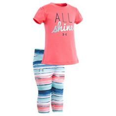 8c23118a214e Under Armour All Shine Shirt and Pants Set for Baby Girls - Brilliance - 24  Months