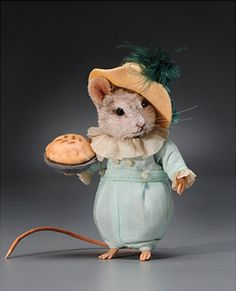 Little Jack Horner Mouse  50481  by R. John Wright