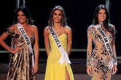 Miss Venezuela Dayana Mendoza,en el Top 5 del Miss Universo 2008, en espera de.los Resultados Finales..