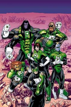 Green Lantern - trying to bring back the Corp