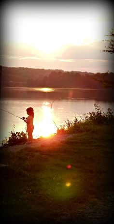 Little girl fishing Girls fishing