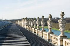 Versailles—Wing of the Midi, South Wing view from the roof, © EPV / Thomas Garnier