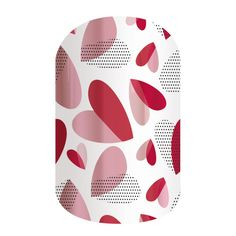 Paper Hearts | Jamberry. Wear your heart on your tips with this subtle and simple design. abettineski.jamberry.com